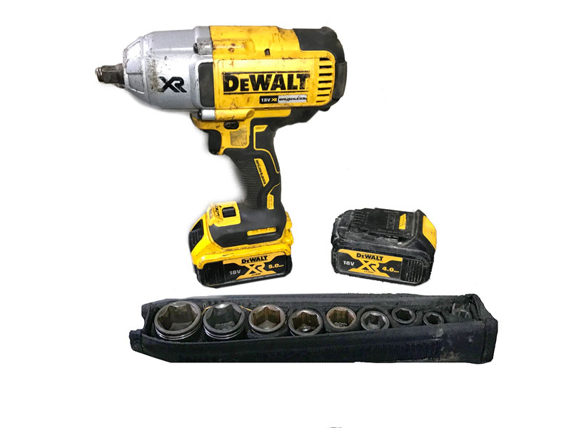 Impact Wrench - With Sockets